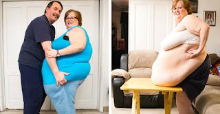 Η κοιλιά αυτής της 52χρονης είναι σχεδόν 2μιση μέτρα αλλά ο άντρας της την λατρεύει και θεωρεί την κοιλιά της μεγάλο μπόνους