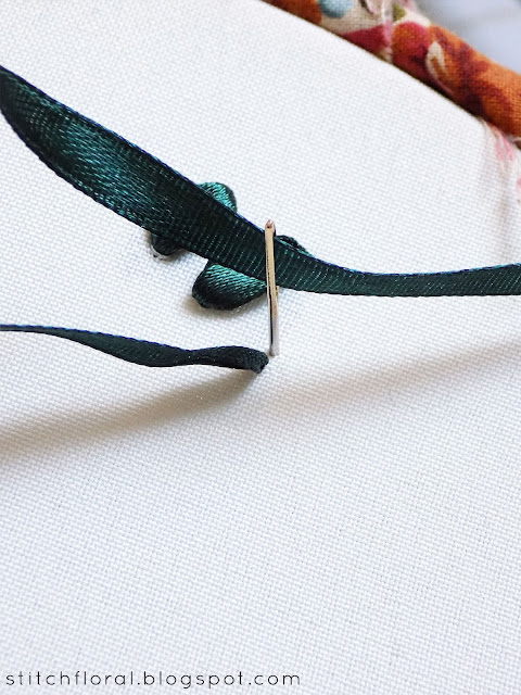 Ribbon embroidery: basic stitches