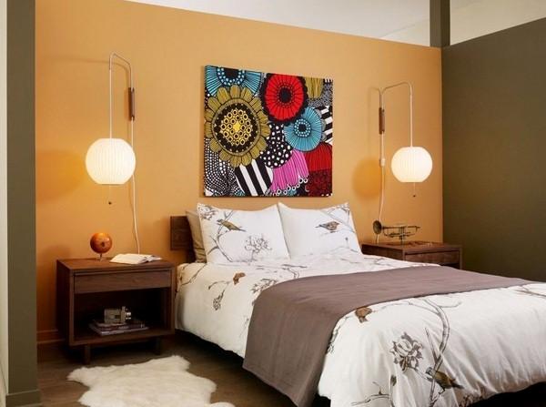 warna cat kamar tidur dua warna 1