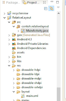 Tutorial Android 3 - Membuat Relative Layout