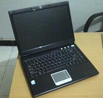 jual laptop 1 jutaan bekas axioo m54sr