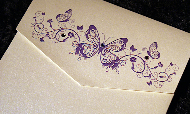 Gorgeous Wedding Invitations: Butterfly Wedding Invitations: Gorgeous Butterfly Wedding