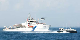 ICGS Rajkamal and six interceptor boats rebased at Andaman and Nicobar Islands