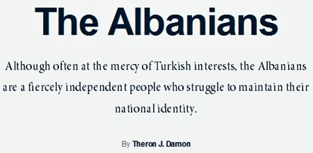 theron johnson damon the albanians