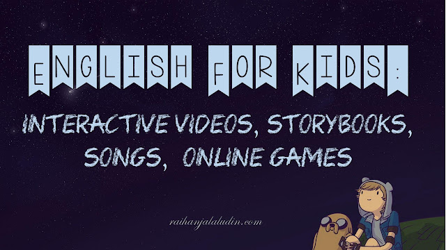 English For Kids : Interactive Videos, Storybooks, Songs, Online Games