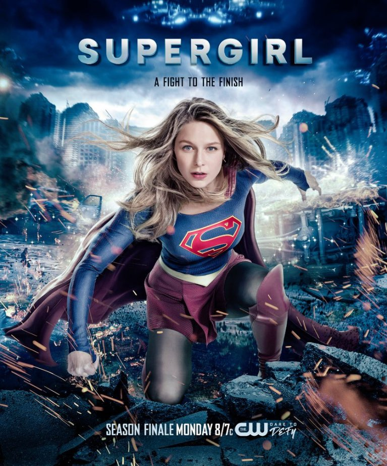 Supergirl season 2 finale poster