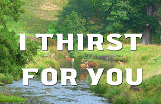 Group of deer by a running stream - As a deer craves running water, I thirst for you, my God; I thirst for God, the living God, When will I see your face? 1 Send your light and truth. They will escort me to the holy mountain where you make your home. 2 I will approach the altar of God, God, my highest joy, and praise you with the harp, God, my God. 3 Why are you sad, my heart? Why do you grieve? Wait for the Lord. I will yet praise God my saviour.