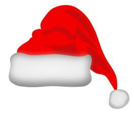 Cappello Babbo Natale Disegno.Ricetta Biscotti Torta Cappello Di Babbo Natale