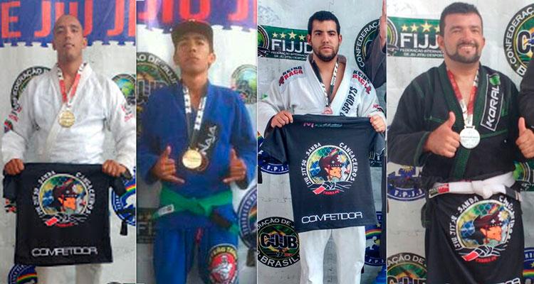 Rodrigo palmeira, Vitor Olegário, Gleison Santana e Jorge Soares