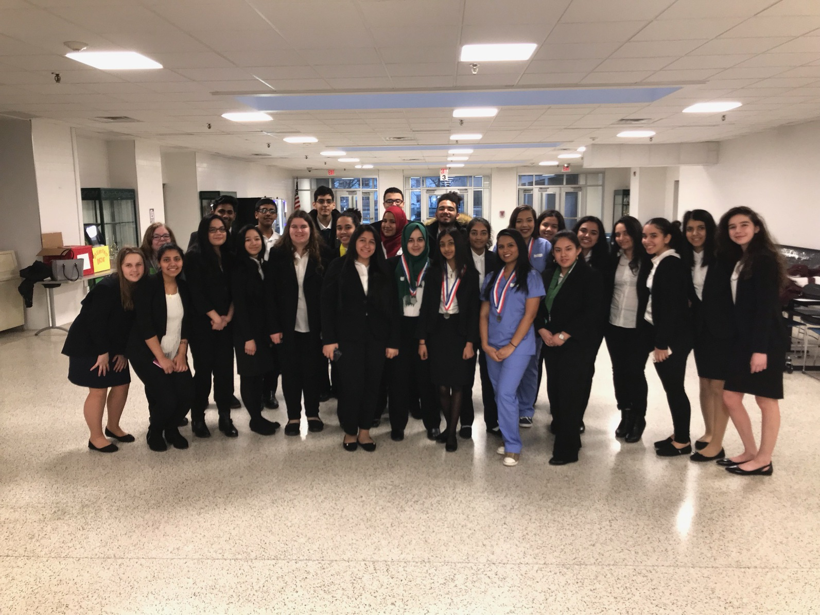 County Prep's Med-Sci Students Win at HOSA's Regional Competition