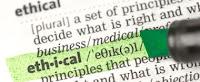 Diccionario palabra etica