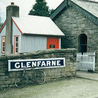 view of glenfarne rail station
