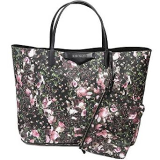 Givenchy Women's Floral Print Tote Bag With Pouch Set