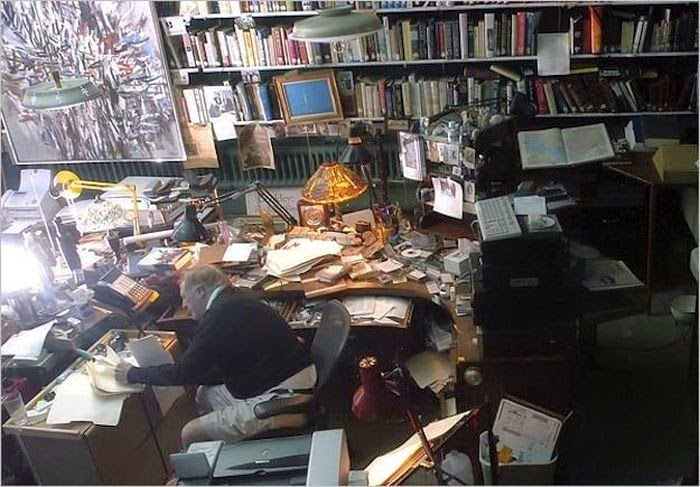 Workspaces Of The Greatest Artists Of The World (38 Pictures) - William Buckley, author and commentator