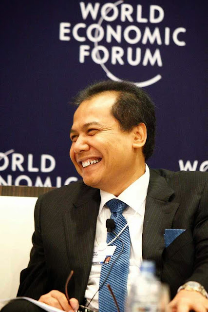 Chairul Tanjung di World Economic Forum