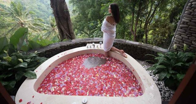 elaksasi mewah bernuansa alami Spa Ubud Bali
