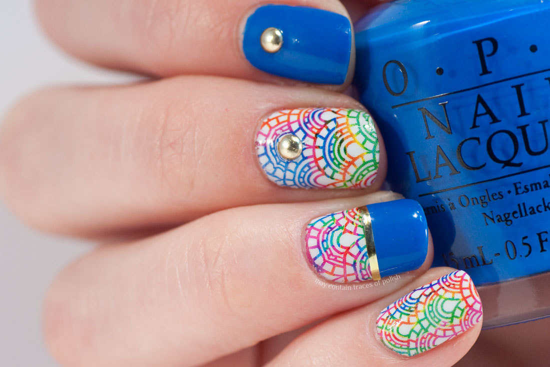 Nail Polish With Water Creative Touch