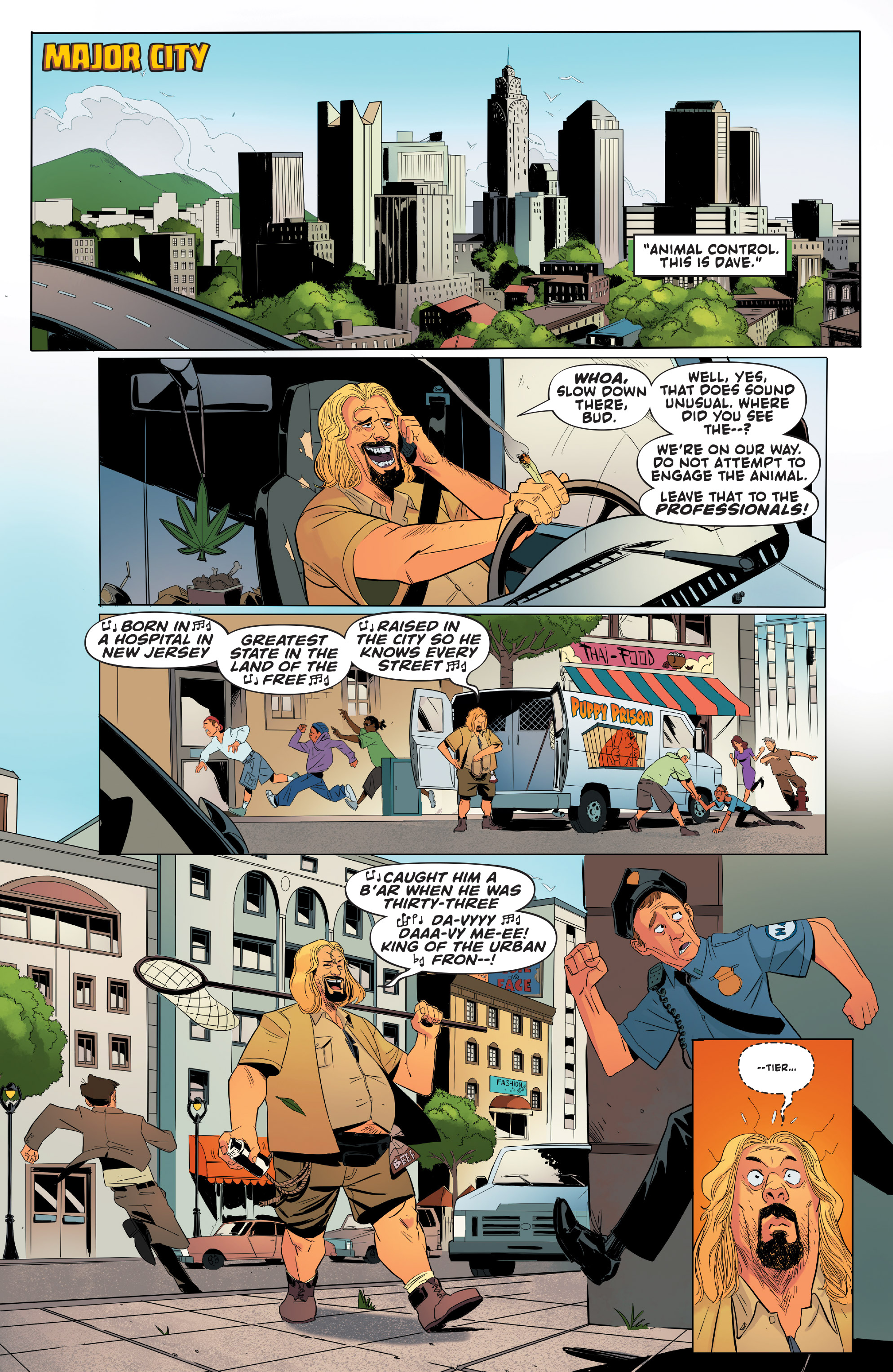 Read online Shirtless Bear-Fighter! comic -  Issue #1 - 3