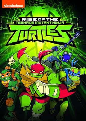 Rise Of The Teenage Mutant Ninja Turtles [2018] [DVD] [R1] [NTSC] [Latino]