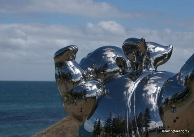 City Dreams, by  Gao Xiaowu, China, Sculptures by the Sea, Cottesloe 2016