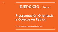 Programación Orientada a Objetos Python