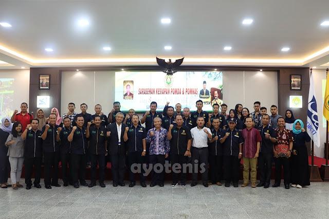 Susunan Kepengurusan Pengkab PELTI Jember Masa Bakti 2019-2024