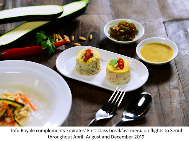 Emirates Cabin Crew enriches First Class menu with special creation