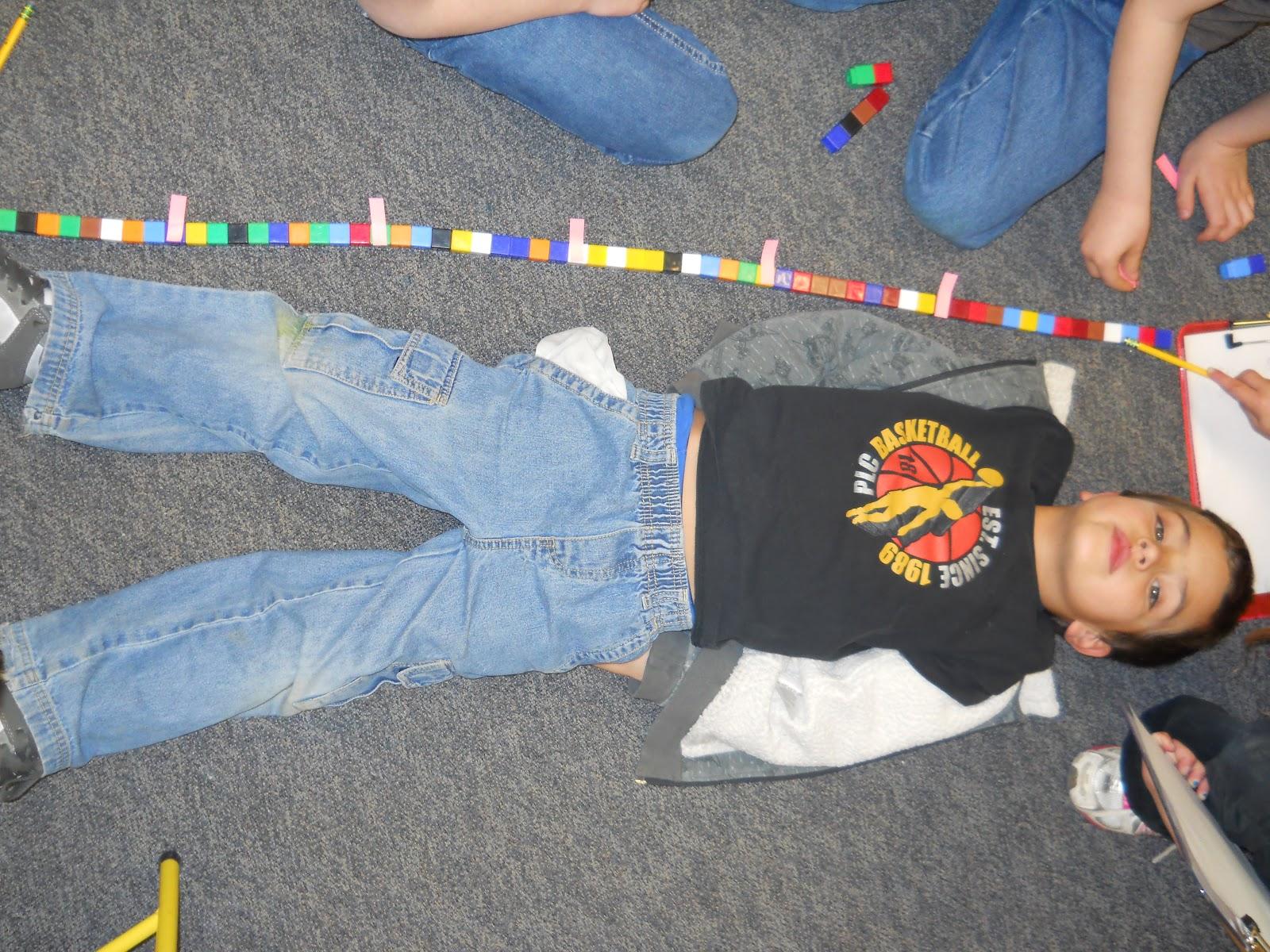 Mrs T S First Grade Class Non Standard Measurement