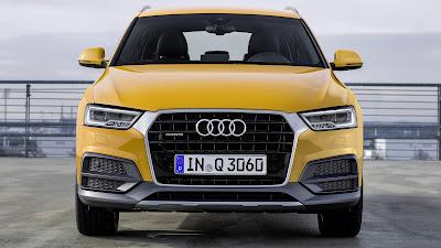 Audi Q3 SUV Yellow Wallpaper
