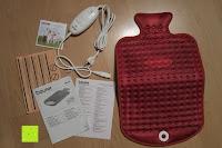 Erfahrungsbericht: Beurer HK 44 Heizkissen (elektrische Wärme in Wärmflaschenform)