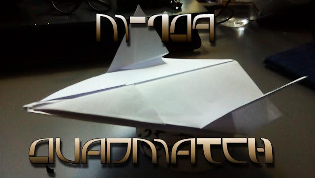 Avión de papel M-109