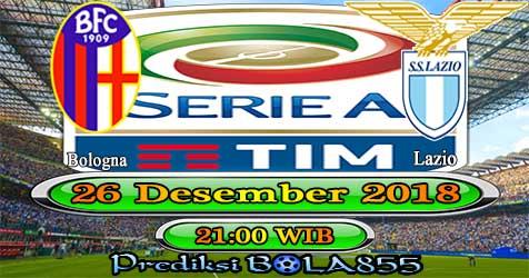 Prediksi Bola855 Bologna vs Lazio 26 Desember 2018