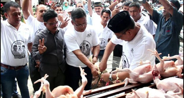 Kunjungan Pasar Calon Walikota Banda Aceh A-Z