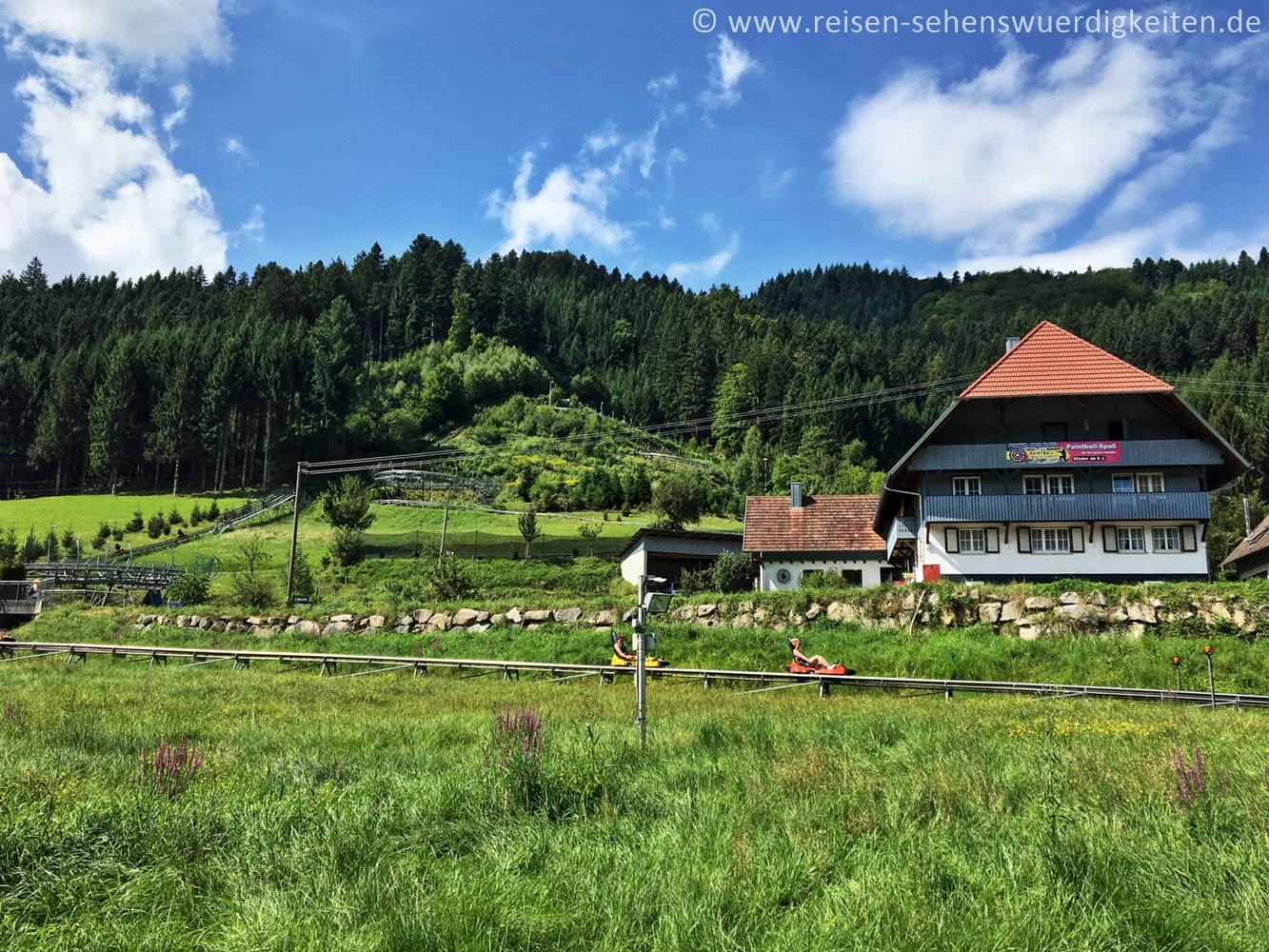 Sommerrodelbahn Gutach, Ausflugsziel im Schwarzwald