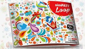 Paket Internet Simpati LOOP Murah Terbaru 2017 Telkomsel