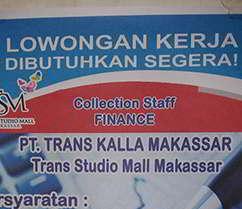 Lowongan Kerja di PT Trans Kalla Makassar
