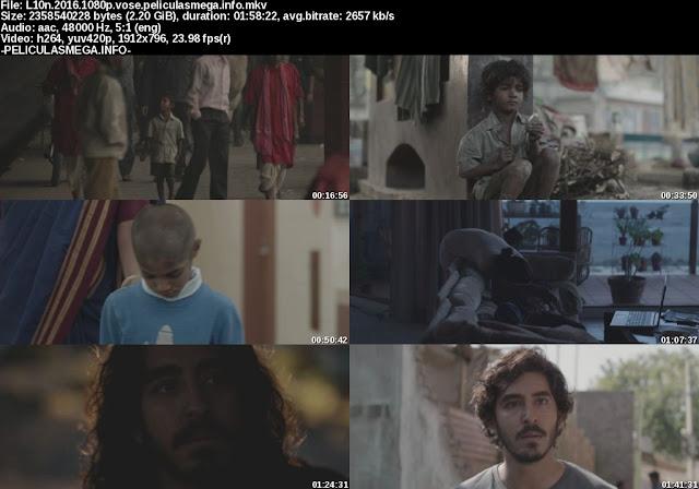 Descargar Lion Subtitulado por MEGA.
