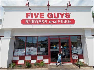 Unidades Five Guys em Miami e Orlando