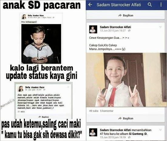 Foto Bocah SD Pacaran Dan Berantem