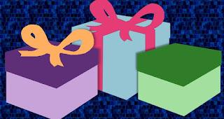 """Variationen der Karte """"Geschenk"""""""