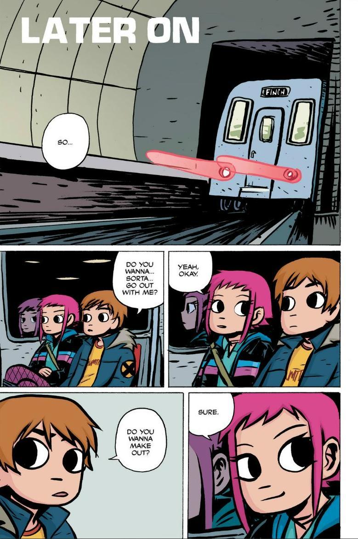 Read online Scott Pilgrim comic -  Issue #1 - 144