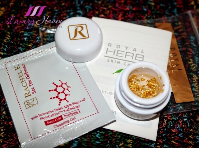 royal herb skincare rachel k stem cell giveaway