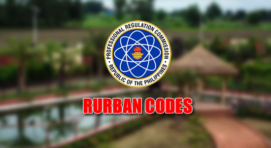 List of over 1600 Rurban Codes published on PRC website