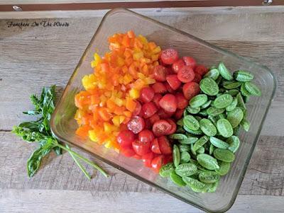 cucamelon salad