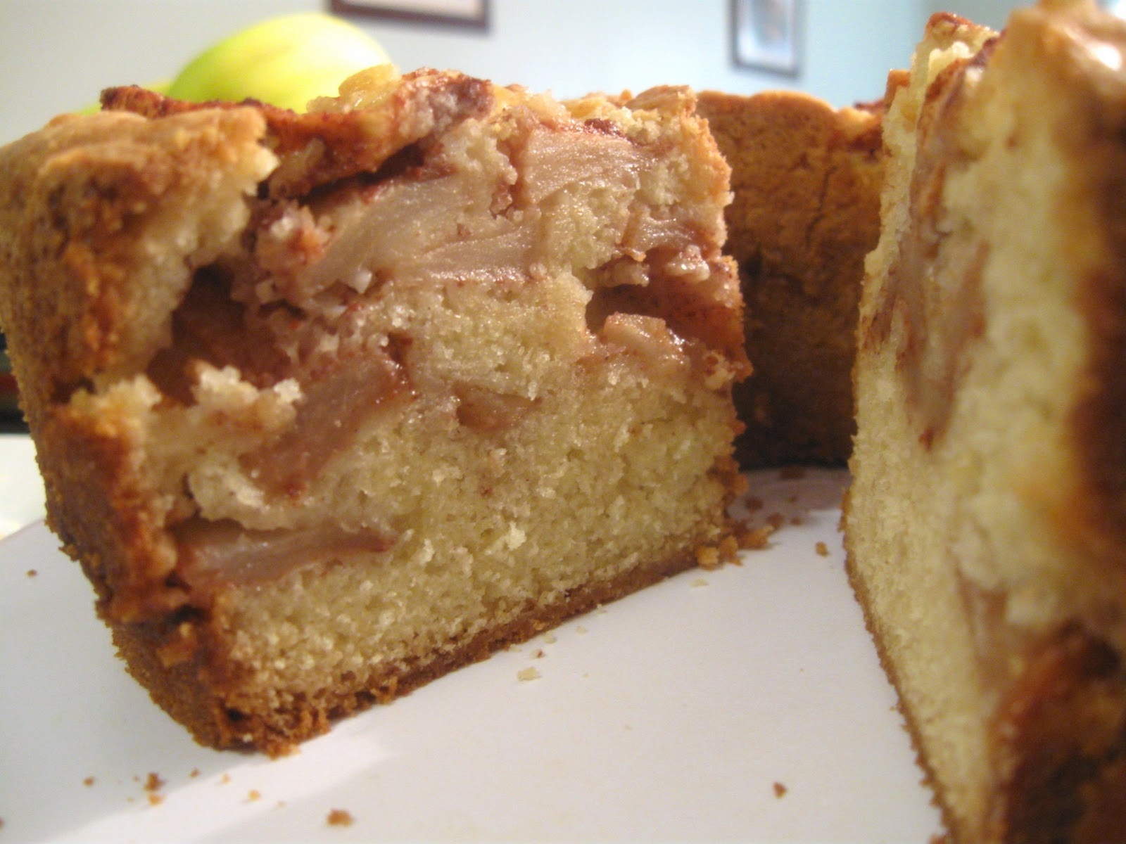 Dense Apple Cake Recipe