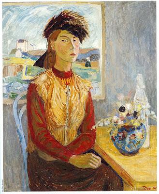 Autoportrait (1941), Tove Jansson