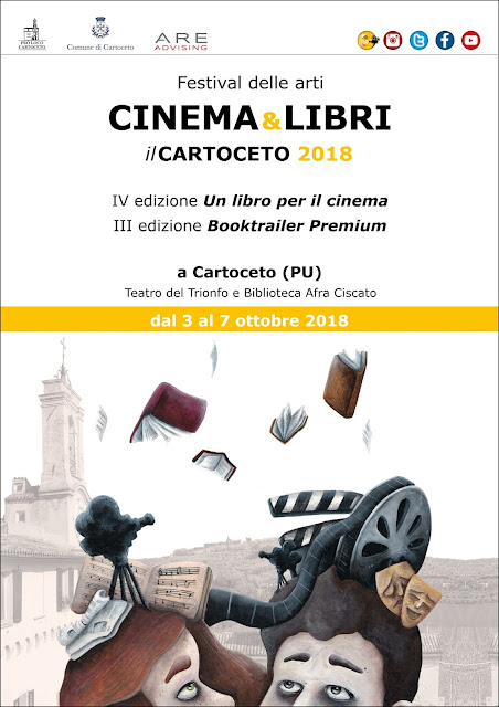 cinema e libri on the road 2018 Cartoceto