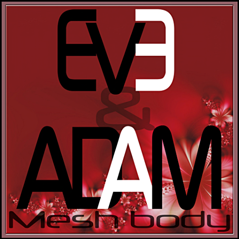 Eve & Adam Mesh Body