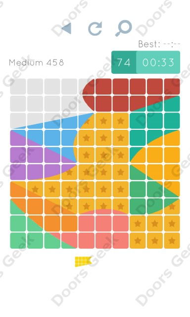 Cheats, Walkthrough for Blocks and Shapes Medium Level 458