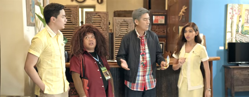 Enteng Kabisote 10 and the Abangers 2016 fantasy comedy film featuring the Eat Bulaga Love Team Aldub - MaiDen Alden Richards and Maine Mendoza